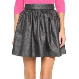 {joie} dark gray Willa mini skirt